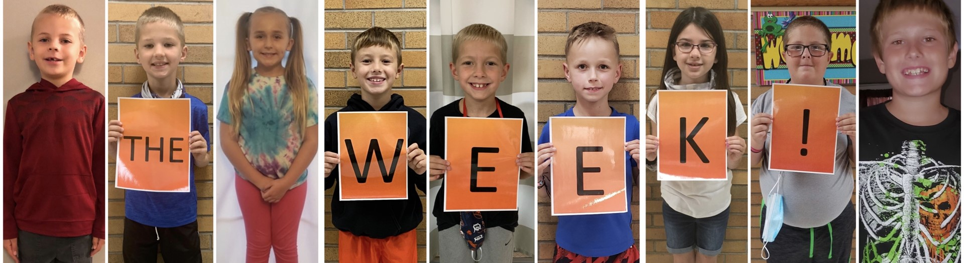 Pictures of students recognized as LFE Respectful Trojans of the Week 9/28/2020